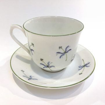 Holly Lasseter teacup and saucer