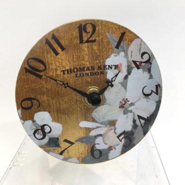Gold Blossom Clock