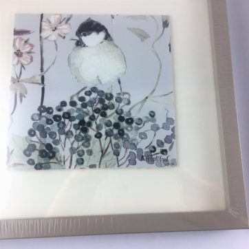 Pair of bird prints