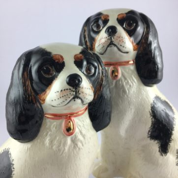 Pair of King Charles Spaniels
