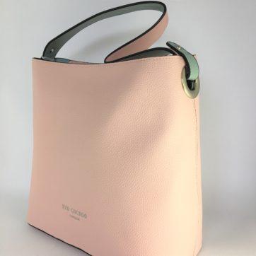 Pink Red Cuckoo shoulder bag