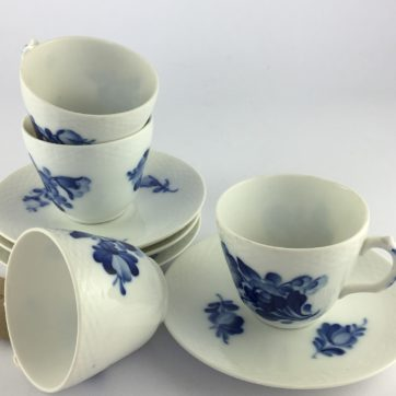 Set of 4 Royal Copenhagan Coffee cups