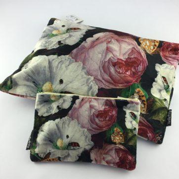 Vanilla Fly velvet pouches