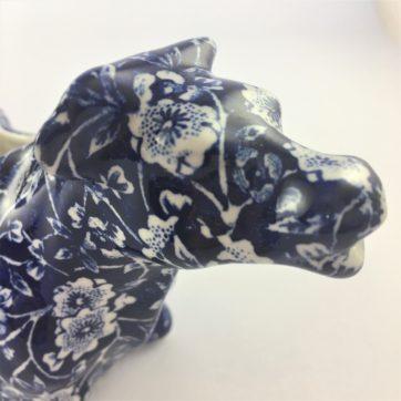 Burleigh pottery cow creamer