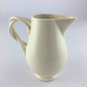 Vintage Leeds Pottery creamware jug