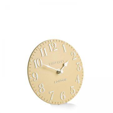 Thomas Kent Arabic Mantel Clock – Honey