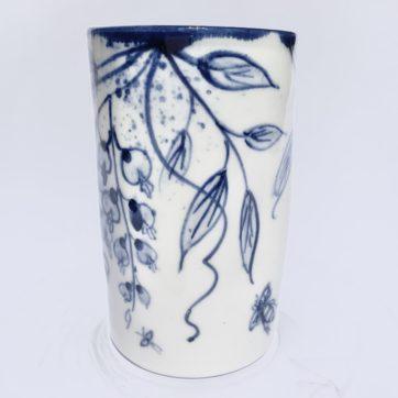 Mia Sarosi Wisteria Posy Vase