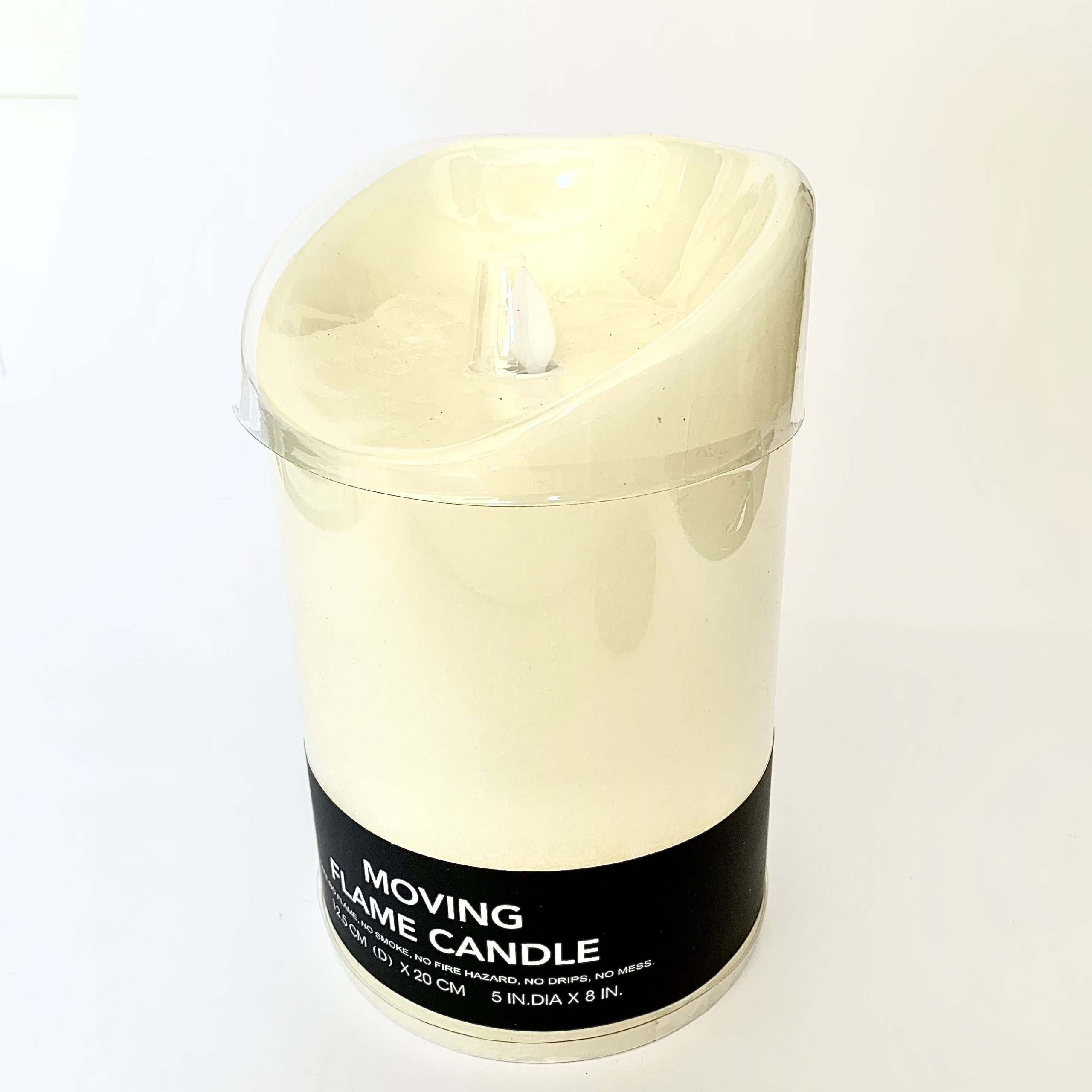Extra Large Battery Operated Flickering Candle Casa Fina Salisbury