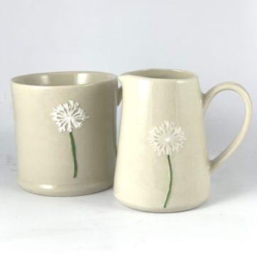Mini jug and mug – Dandelion