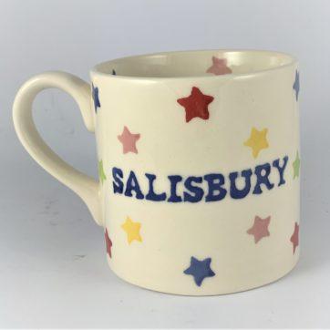 Salisbury Mug – Rainbow stars