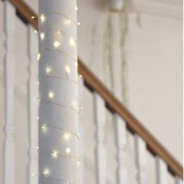 Silver cluster lights – 7.5m