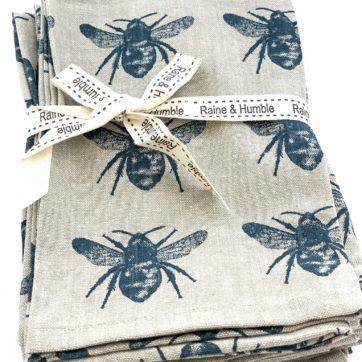 Bee napkins – set of 4