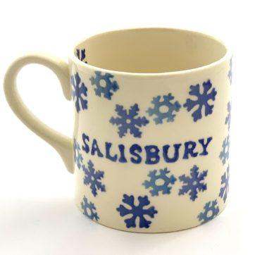 Salisbury Mug – Christmas snowflake