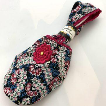 IXLI Slipper Socks – Pink blossom