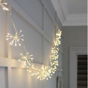 Starburst lights – Silver