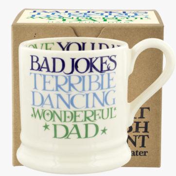 Emma Bridgewater Wonderful Dad half pint mug