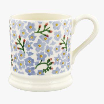 Emma Bridgewater Forget me not half pint mug