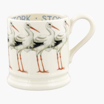 Emma Bridgewater Stork half pint mug