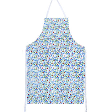 Ladybird design apron and oven gloves