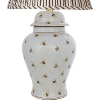 India Jane Bee Temple Jar Lamp