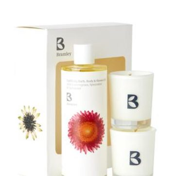 Bramley – Uplifting Oil & Candle Gift Box