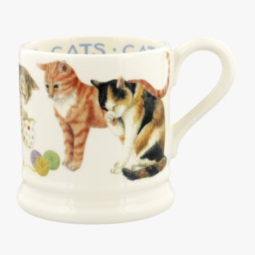 Emma Bridgewater Cats All Over half pint mug