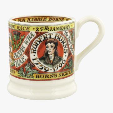 Emma Bridgewater Burns Night half pint mug