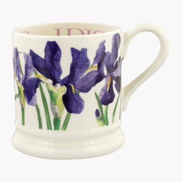 Emma Bridgewater Iris half pint mug