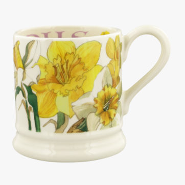 Emma Bridgewater Daffodils half pint mug