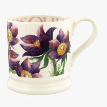 Emma Bridgewater Pasque Flower half pint mug