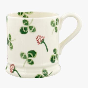 Emma Bridgewater Clover Flower half pint mug