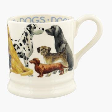 Emma Bridgewater Dogs All Over half pint mug