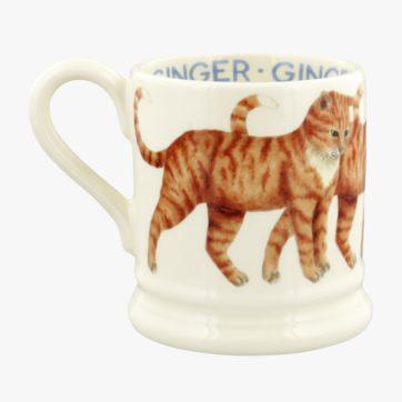 Emma Bridgewater Ginger Cat half pint mug